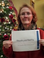 Leona attended Canadian Brass Holiday Concert on Dec 10th 2014 via VetTix