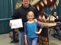 Kenneth attended Discover the Dinosaurs - Saturday on Dec 6th 2014 via VetTix