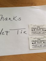 Glen attended The Charlie Daniels Band Greatest Hits and Holiday Classics on Dec 11th 2014 via VetTix
