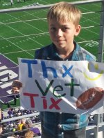 CPT Craig Paine attended TCU Horned Frogs vs. Iowa State - NCAA Football on Dec 6th 2014 via VetTix