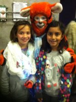 Anaya attended A Winnie the Pooh Christmas Tail Sponsored by Aps Military Night on Dec 19th 2014 via VetTix