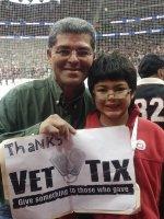 ricardo attended New Jersey Devils vs. Chicago Blackhawks - NHL on Dec 9th 2014 via VetTix