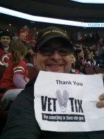Jose attended New Jersey Devils vs. Chicago Blackhawks - NHL on Dec 9th 2014 via VetTix