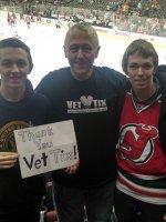 Steven attended New Jersey Devils vs. Chicago Blackhawks - NHL on Dec 9th 2014 via VetTix
