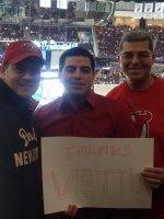 ricardo attended New Jersey Devils vs. Tampa Bay Lightning - NHL on Dec 19th 2014 via VetTix