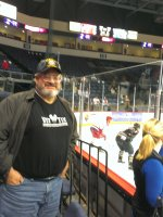 Vincent and Nancy attended Allen Americans vs. Quad City Mallards - ECHL - Wednesday on Dec 10th 2014 via VetTix
