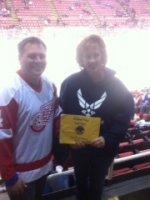 Cynthia attended Detroit Red Wings vs. Toronto Maple Leafs - NHL on Dec 10th 2014 via VetTix