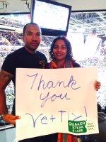 Wes attended Cleveland Cavaliers vs. Toronto Raptors - NBA on Dec 9th 2014 via VetTix