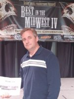 Bradley attended Best in the Midwest IV Tattoo and Arts Convention on Feb 6th 2015 via VetTix