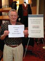 Gerald attended Eugene Onegin Performed by Arizona Opera on Feb 8th 2015 via VetTix