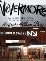 Martin attended Nevermore - the Imaginary Life and Mysterious Death of Edgar Allan Poe on Feb 9th 2015 via VetTix