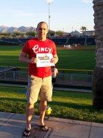 Matt Fortune attended Cincinnati Reds vs. Colorado Rockies - MLB Spring Training on Mar 14th 2015 via VetTix