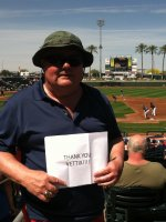 John attended Cleveland Indians vs. Milwaukee Brewers - MLB Spring Training on Apr 3rd 2015 via VetTix