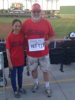 jeff attended Cincinnati Reds vs. Texas Rangers - MLB Spring Training - Night Game on Mar 25th 2015 via VetTix