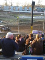 Edward attended Valley Speedway Races on Apr 4th 2015 via VetTix