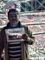 Omar attended Washington Wizards vs. Indiana Pacers - NBA on Mar 25th 2015 via VetTix
