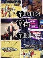 Demetrice attended New Orleans Pelicans vs. Houston Rockets - NBA on Mar 25th 2015 via VetTix