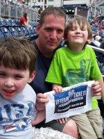 Anthony attended Washington Nationals vs. Philadelphia Phillies - MLB on Apr 19th 2015 via VetTix