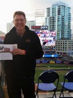 Patrick attended San Diego Padres vs. Pittsburgh Pirates - MLB on May 28th 2015 via VetTix