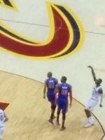 SFC Jason Beatty attended Cleveland Cavaliers vs. Detroit Pistons- NBA on Apr 13th 2015 via VetTix