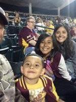 Click To Read More Feedback from Arizona State Sun Devils vs. Tennessee Tech - NCAA Men's Baseball - Military Appreciation Night