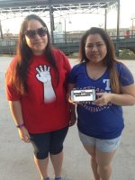 Marcus attended Texas Rangers vs. Cleveland Indians - MLB on May 15th 2015 via VetTix