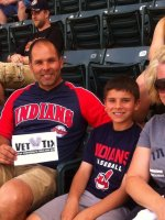 Michael attended Cleveland Indians vs. Texas Rangers - MLB on May 25th 2015 via VetTix