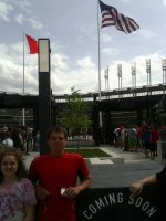 Eric attended Cleveland Indians vs. Texas Rangers - MLB on May 25th 2015 via VetTix