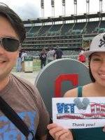 Mike attended Cleveland Indians vs. Texas Rangers - MLB on May 25th 2015 via VetTix