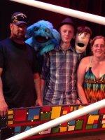 Darin attended Puppet Wars on May 23rd 2015 via VetTix