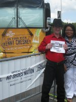 Barbara Young attended Kenny Chesney - the Big Revival Tour on May 28th 2015 via VetTix