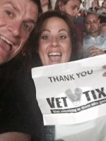 alan attended Kenny Chesney - the Big Revival Tour on May 28th 2015 via VetTix
