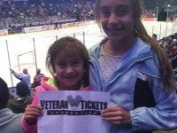Justin attended Ontario Reign vs. Allen Americans - Round 3 Game B - 2015 ECHL Kelly Cup Playoffs - Saturday on May 23rd 2015 via VetTix