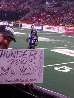 Click To Read More Feedback from Portland Thunder vs. San Jose Sabercats