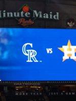 Click To Read More Feedback from Houston Astros vs. Colorado Rockies - MLB