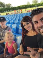 Cameron attended Rascal Flatts the Riot With Raelynn and Scotty Mccreery on Jul 11th 2015 via VetTix