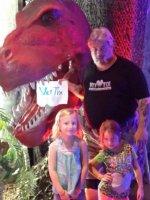 CaimanHunter attended Discover the Dinosaurs - Saturday on Jul 11th 2015 via VetTix