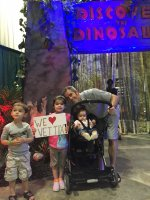 Brian attended Discover the Dinosaurs - Saturday on Jul 11th 2015 via VetTix