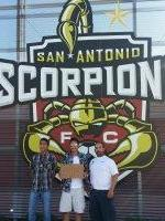 Joseph attended San Antonio Scorpions vs. Tampa Bay Rowdies - NASL Soccer on Jul 11th 2015 via VetTix