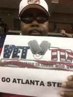 sandy attended Atlanta Steam vs. Omaha Heart - Legends Football League - Women of the Gridiron - Football - Friday on Jul 10th 2015 via VetTix