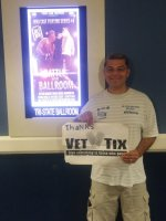 ricardo attended Battle in the Ballroom - 21 and Over - MMA Cage Fighting Series 4 - Presented by Fight Club Champion - Mixed Martial Arts - Friday on Jul 10th 2015 via VetTix