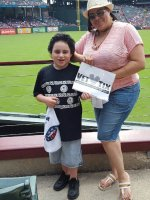 ALEJANDRO attended Texas Rangers vs. Seattle Mariners - MLB - Afternoon Game on Aug 19th 2015 via VetTix