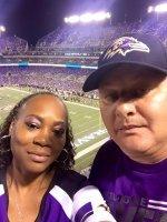 Pamela attended Baltimore Ravens vs. New Orleans Saints - NFL Preseason on Aug 13th 2015 via VetTix