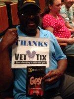 Noah attended Smtc Presents Gypsy on Aug 22nd 2015 via VetTix