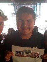 Jason attended Billboard Hot 100 Music Festival - Nicki Minaj, Kygo and Skrillex - Sunday on Aug 23rd 2015 via VetTix