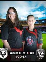 Laura attended Dc United vs. San Jose Earthquakes - MLS - Saturday on Aug 22nd 2015 via VetTix