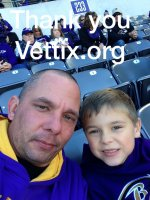 joseph attended NFL Military Salute - Baltimore Ravens vs. Jacksonville Jaguars on Nov 15th 2015 via VetTix