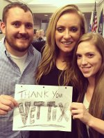 Charles attended Chris Young I'm Comin' Over Tour With Special Guest Eric Paslay and Clare Dunn on Oct 24th 2015 via VetTix