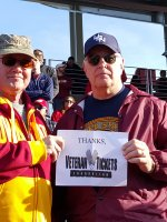 Douglas attended Iowa State Cyclones vs. Oklahoma State - NCAA Football on Nov 14th 2015 via VetTix