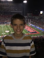 Randy attended University of Arizona Wildcats vs. UTah - NCAA Football on Nov 14th 2015 via VetTix